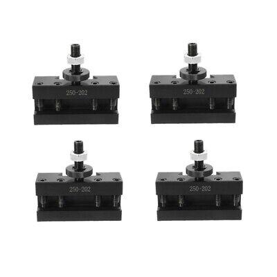 4pcs 10-15 Bxa 2 Quick Change Turning Facing Boring Tool Post Holder 250-202