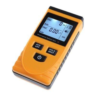Digital Lcd Electromagnetic Radiation Detector Meter Dosimeter Radiation Tester