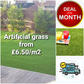 🔥Artificial grass from £6.75/m2🔥