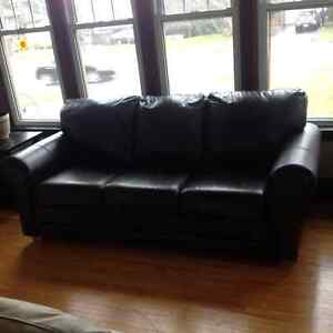 100% all Leather Cowhide Sofa