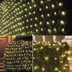3M-x2M-210-LED-Christmas-Holiday-Warm-White-Curtain-House-Window-Wall-Net-Lights