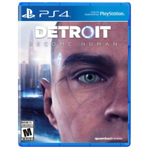 Detroit: Become Human PS4 - Brand New and Sealed