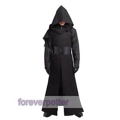 STAR WARS 7 Kylo Ren Adult Costume Force Awakens Deluxe Men Cosplay Full Set