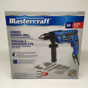 Perceuse à percussion à fil Mastercraft Hammer Drill NEUF