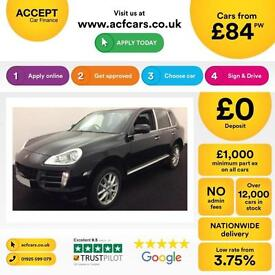 PORSCHE CAYENNE 3.0 V6 D 260 PLATINUM EDITION GTS TURBO FROM £84 PER WEEK!