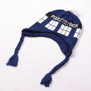 Brand New Doctor Who Tardis Beanie- Officially BBC Licensed