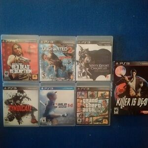 4 PS3 Games, Good Variety, All for $25