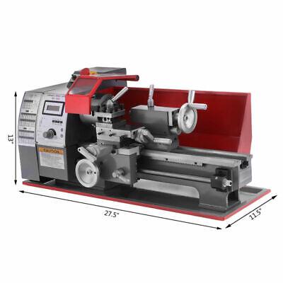 712 Wood Mini Metal Turning Lathe Woodworking Tool Cutter Drilling Milling Wood