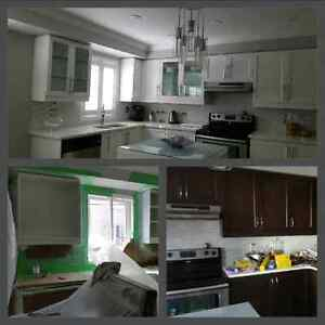 Refinish your kitchen and floors.special for summer