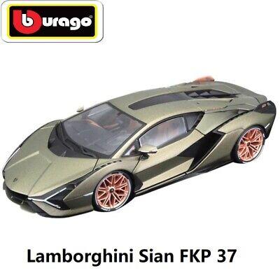 Bburago 1:18 Lamborghini Sian FKP 37 hybrid sports Diecast Car