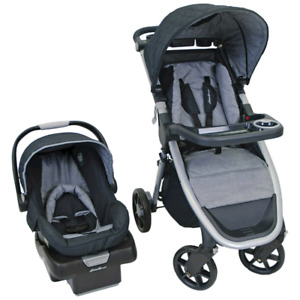 2 Strollers & car seat with base