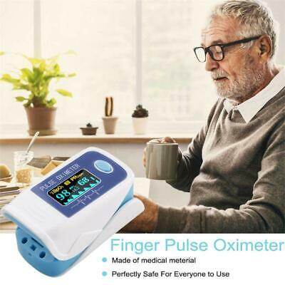 New Portable Fingertip Pulse Oximeter Oxymeter Spo2 Pr Monitor Led Display