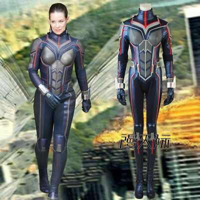 Ant-Man and the Wasp Cosplay Kostüm Outfit Halloween Set (Antman Kostüme)