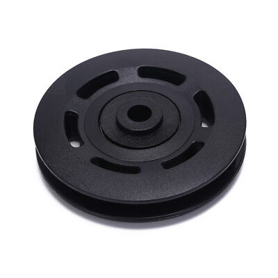 - 90mm Black Bearing Pulley Wheel Cable Gym Equipment Part Wearproof gym tool H&P