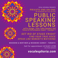 VOICE COACH: Public Speaking Lessons - CONQUER YOUR FEAR!