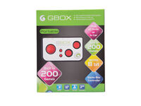 GBOX RETRO GAMES MACHINE - 200 Built-in games - NEW & BOXED