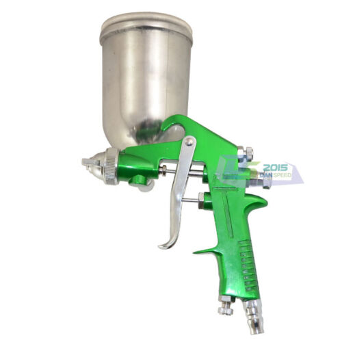 400cc Cup Air Gravity Feed Spray Gun Sprayer Paint Painting Tool 1.5mm Nozzle