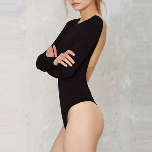 BRAND NEW Backless Long Sleeved Body Suit Kitchener / Waterloo Kitchener Area image 3