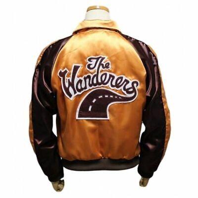 The Wanderers Movie Jacket Men's Varsity Letterman Jacket-Halloween Costume - Halloween Costume Letterman Jacket