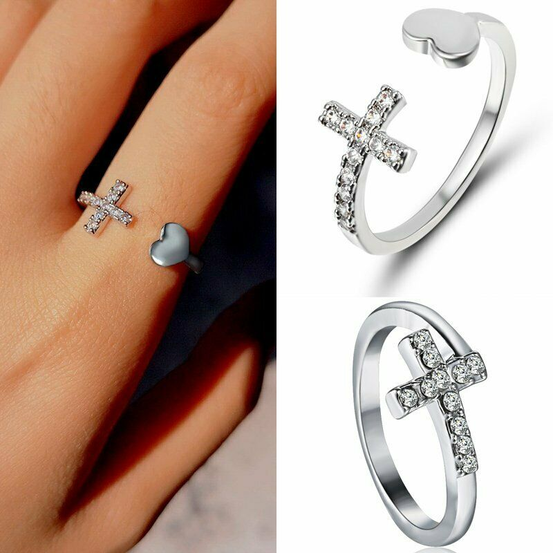 High Quality Stylish Crystal Knuckle Ring Party Banquet Jewelry