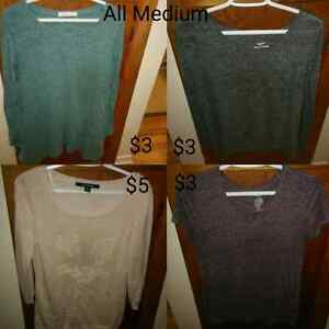 Almost 30 different items! Clothing Size medium and large!
