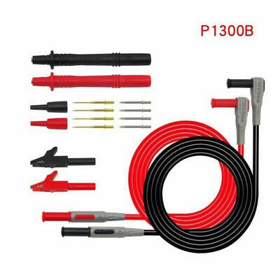 Fluke P1300b Or P1300c Multimeter Test Lead Kit Aligator Clips Probe 12 In1 Set