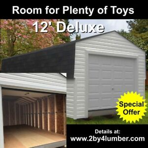 Snowmobile / ATV Storage Shed Offer