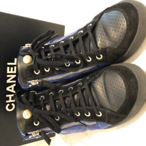 Chanel Pearl Sneakers
