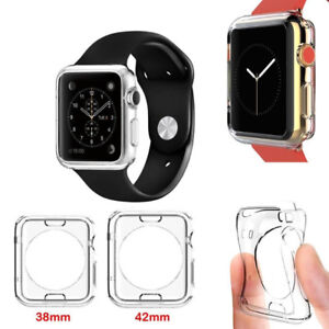 Transparent Clear TPU Protection Case For Apple Watch Series 2 3