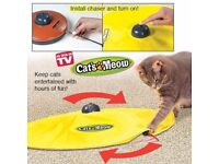 Electronic Cat's Meow Toy Undercover Mouse Exercise - NEW