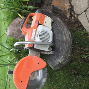 Sthil Concrete saw