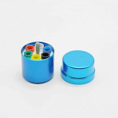 Blue Dental Endodontic Paper Gutta Percha Organizer Container Aluminum Material