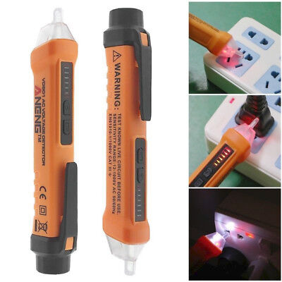 Acdc Non-contact Lcd Electric Test Pen Voltage Digital Detector Tester 121000v