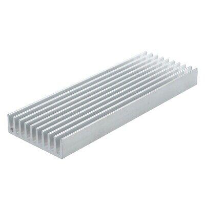 100 Mm 35 Mm X 10 Mm Heat Sink Aluminum Ic Mosfet Scr Component Silver X2 Hgf
