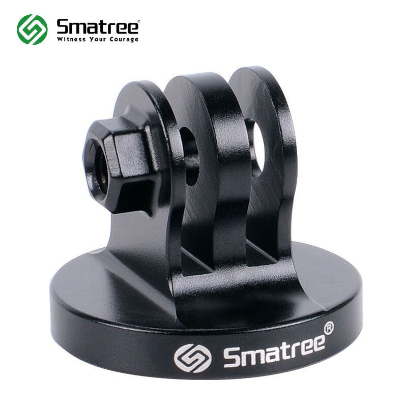 Smatree Aluminum Tripod Mount Adapter for GoPro Session/Hero Fusion,8,7,6,5,4,3+