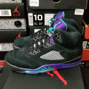 DS / Air Jordan 5 Retro Black Grape - Sz 10