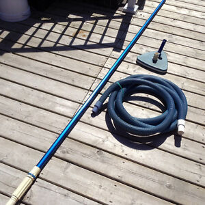 25' extension pole and 20' new hose