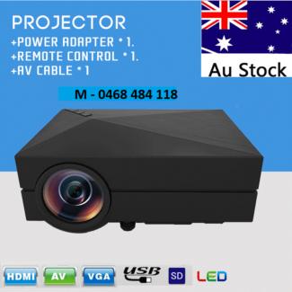 1000Lumens LED VGA Projector Home theatre Cinema USB SD HDMI NEW