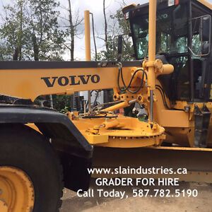 MOTOR GRADER Volvo G940 FOR RENT with or without Operator Edmonton Edmonton Area image 1