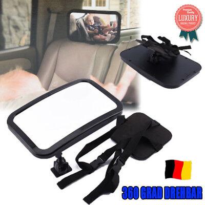 Auto Rückspiegel für Kindersitz Baby Rücksitzspiegel Sicherheits 360° drehbar