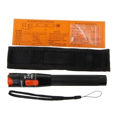 Visual Fault Locator 10mw Red Light Source Fiber Optic Cable Tester Pen Tool