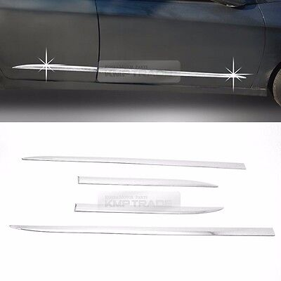 Side Skirt Accent Door Garnish Moldings Cover For HYUNDAI 2017-2019 Elantra AD