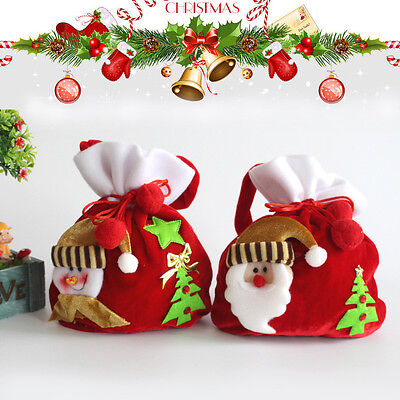 Handtasche Geschenk-beutel (Weihnachtsgeschenk Weihnachtsmann Geschenkbeutel Hochwertige Geschenk Handtasche)