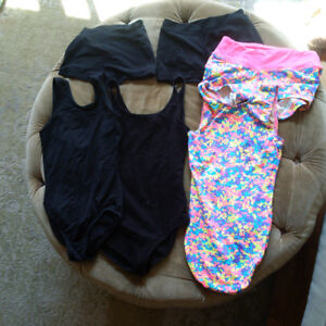 Teen dance/gymnastic leotards and shorts-variety of items
