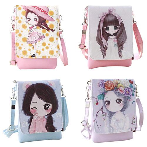Fashion Girls Cute Shoulder Bags Handbags Cartoon Crossbody