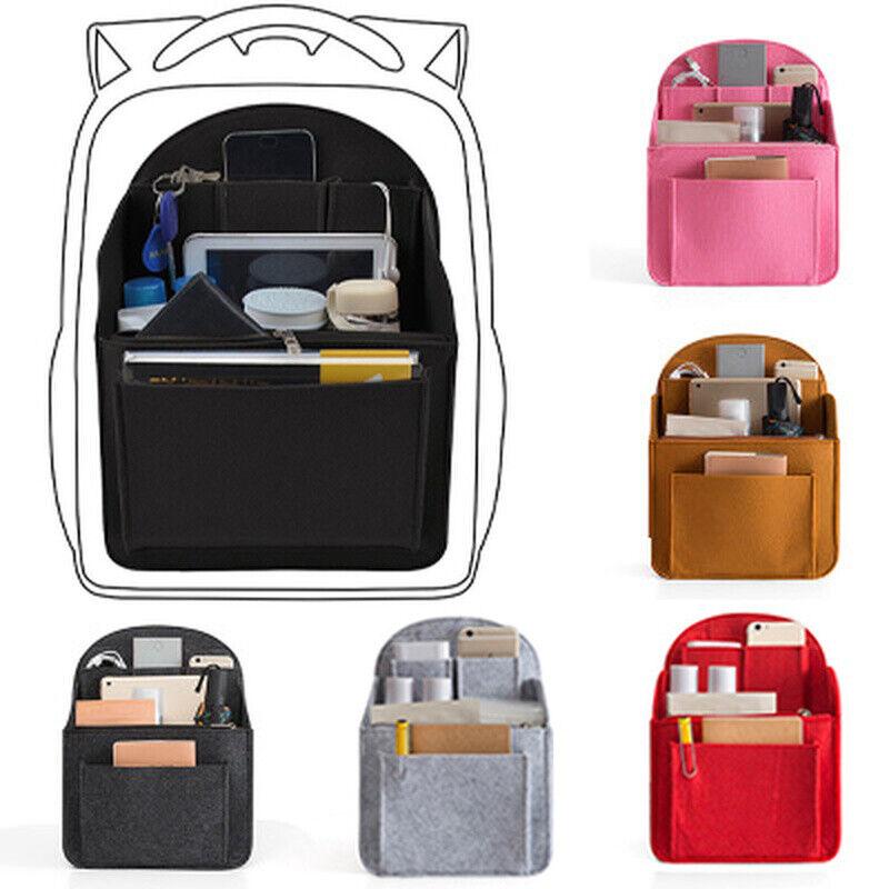 Felt Travel Bag Insert Backpack Organizer for Mummy Shoulder