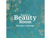 Emily's Beauty Room, Therapy and Massage
