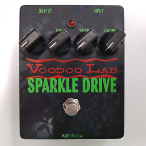 Voodoo Lab Sparkle Overdrive Effect Pedal