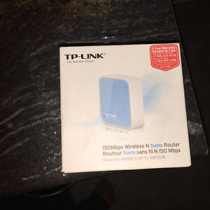TP-Link Nano wireless router