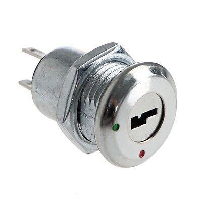 5pcs Electronic Key Switch Onoff Lock Switch Ks-02 With Keys